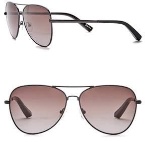 Elizabeth and James Stanton 59mm Aviator Sunglasses
