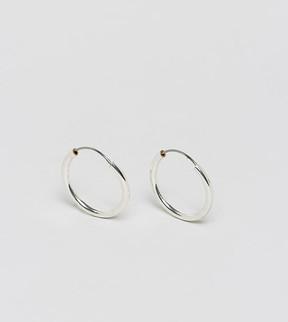 Reclaimed Vintage Inspired Hoop Earring In Silver Exclusive To ASOS