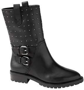 Banana Republic Studded Moto Boot