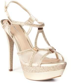 Gianni Bini Elicia Metallic Dress Sandals