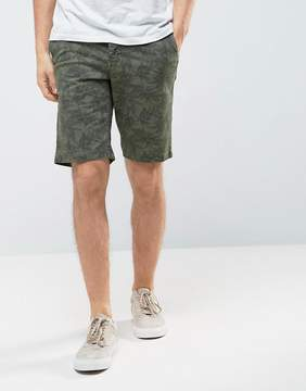 Celio Chino Short with All Over Print
