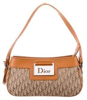 Christian Dior Leather-Trimmed Diorissimo Pochette