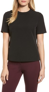 Anne Klein Women's Crepe Button Back Top