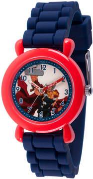 Marvel Avengers Boys Blue Strap Watch-Wma000237