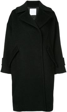 ESTNATION oversized double breasted coat