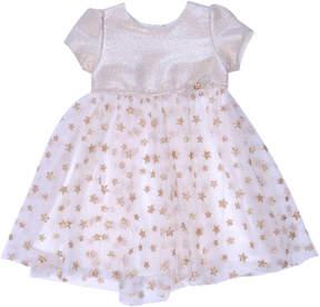 Nanette Baby Nanette Short Sleeve Star Dress - Baby Girls