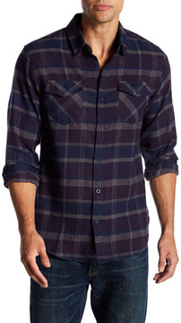 Burnside Plaid Long Sleeve Regular Fit Flannel