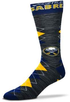 For Bare Feet Men's Buffalo Sabres Fan Nation Crew Socks