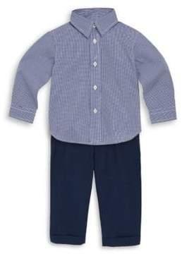 Ralph Lauren Baby's Oxford Shirt& Pants Set