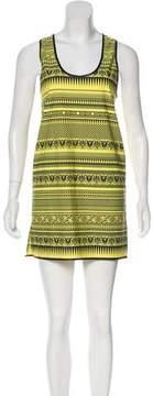 Fausto Puglisi Printed Mini Dress