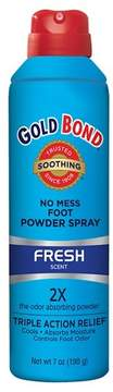 Gold Bond No Mess Foot Powder Spray - 7 oz