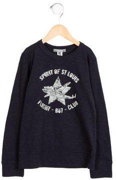 Bonpoint Boys' Long Sleeve Graphic Shirt w/ Tags