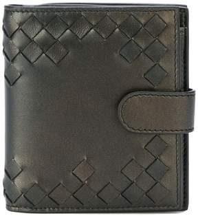 Bottega Veneta cut-out intrecciato wallet
