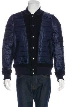 Sacai Quilted Distressed Jacket