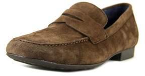 Børn Dave Square Toe Leather Loafer.