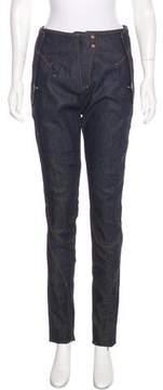 Esteban Cortazar High-Rise Skinny Jeans w/ Tags