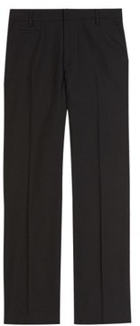 Marks and Spencer Boys' Slim Leg Trousers with SupercreaseTM