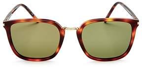 Saint Laurent Square Sunglasses, 52mm