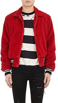 Amiri Men's Cotton Sherpa Bomber Jacket