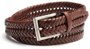Croft & Barrow Men's Handlaced Basket Weave Braided Belt