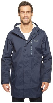 Jack Wolfskin Crosstown Raincoat Men's Coat