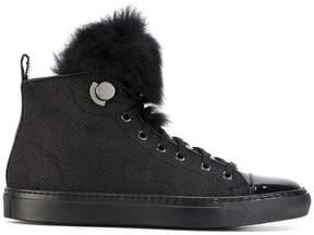 Moncler high top sneakers