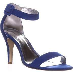 Style&Co. Sc35 Highlight Ankle Strap Sandals, Chelsea Blue.