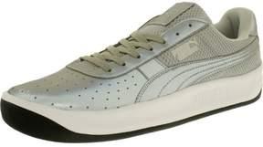 Puma Men's Gv Special Reflective Silver Metallic/Black Low Top Leather Fashion Sneaker - 13M