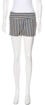 Cacharel Striped Mini Shorts