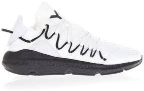 Y-3 Kusari White Fabric Sneakers