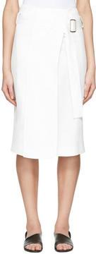 Calvin Klein Collection White Labianca Skirt