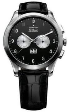 Zenith Grande Class 03.0520.4010 Date Chronograph Stainless Steel Watch
