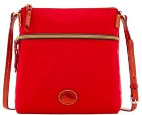 Dooney & Bourke Nylon Crossbody Shoulder Bag - RED - STYLE