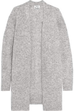 Acne Studios Raya Knitted Cardigan - Gray