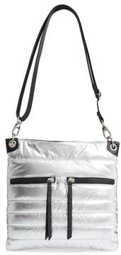 Sondra Roberts Faux Leather Crossbody Messenger Bag