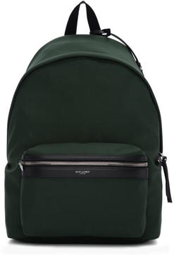 Saint Laurent Green City Backpack