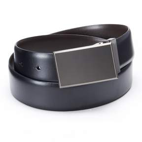 Apt. 9 Pattern Plaque Reversible Leather Belt - Men