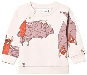 Mini Rodini Grey Bat Pattern Sweatshirt