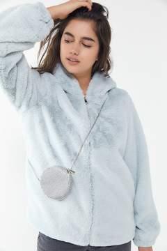 Urban Outfitters Mini Rhinestone Circle Crossbody Bag