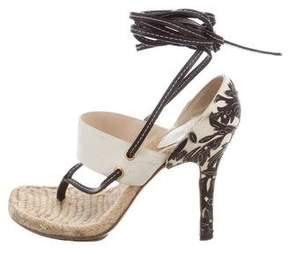 Gucci High-Heel Thong Sandals