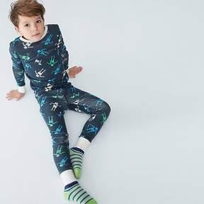 J.Crew Kids' pajama set in robots