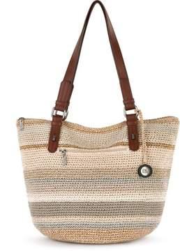 The Sak Silverwood Shopper Tote Handbag One Size Beige multi
