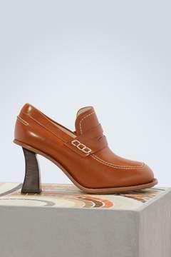 Marni High-heeled loafers