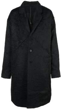 Barbara I Gongini oversized buttoned-up coat