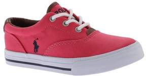 Polo Ralph Lauren Girls' Vaughn II Canvas Sneaker - Little Kid