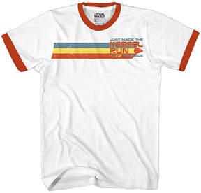Star Wars Novelty T-Shirts Solo Kessel Run Graphic Tee