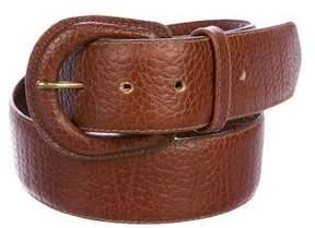 Ralph Lauren Grained Leather Waist Belt