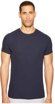 ATM Anthony Thomas Melillo Micromodal Rib Short Sleeve Crew Men's T Shirt