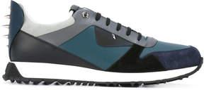 Fendi panelled sneakers