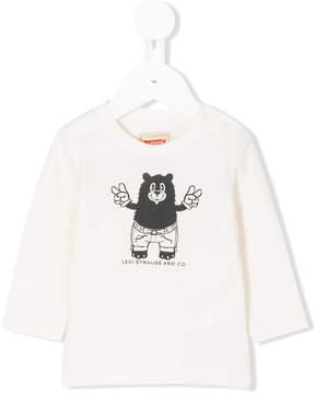 Levi's Kids bear print T-shirt